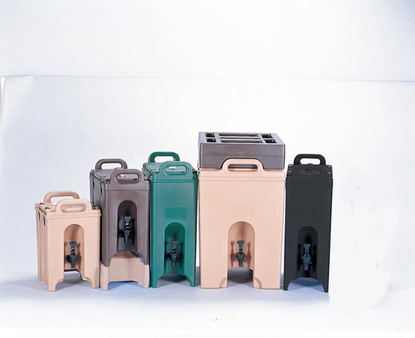 キャンブロ ドリンクディスペンサー 1000LCD(44.5l) グリーン 【厨房館】