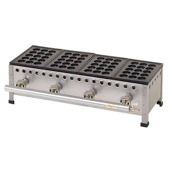 たこ焼機(15穴) TS-155 5連 13A 【厨房館】
