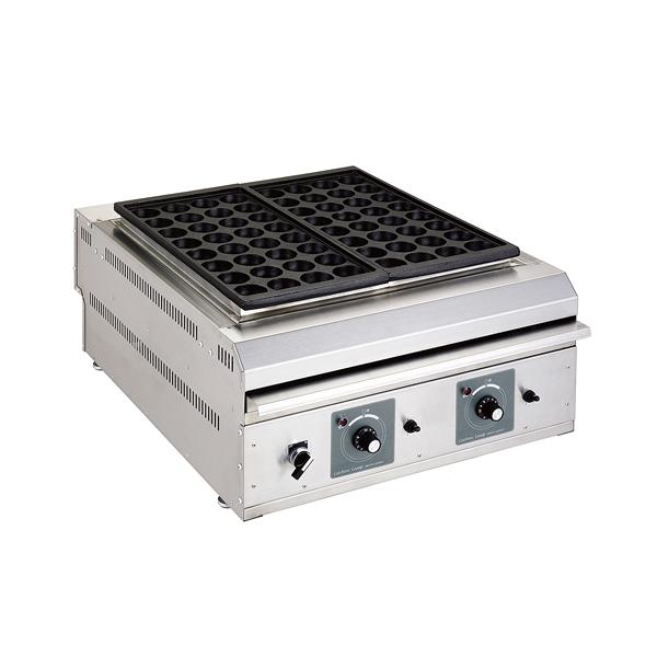 電気式 たこ焼機(カーボンヒーター搭載) STE-02(2連) φ38 【厨房館】