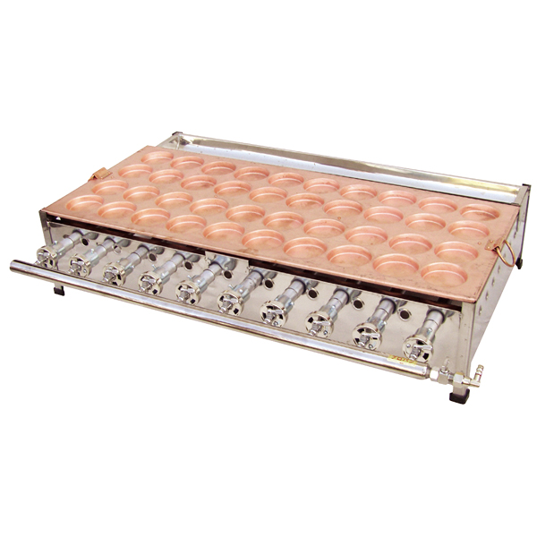 ガス式 大判焼機(銅板) OY60R 13A 【厨房館】