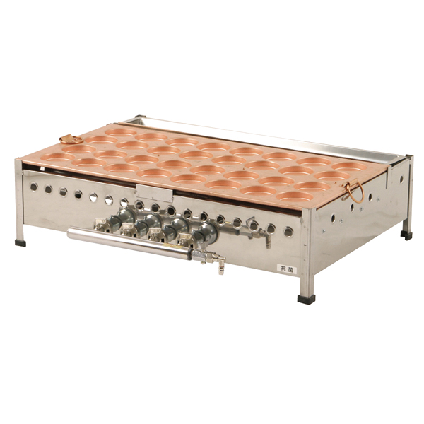 ガス式 大判焼機(銅板) OY60 13A 【厨房館】
