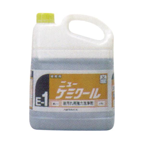 ニューケミクール (アルカリ性強力洗浄剤) 4kg×4本 【厨房館】