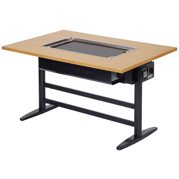 kisi-12-0469-0803 ガス式 温調機能付 鉄板焼機(洋卓) JTF-15T LP 【厨房館】