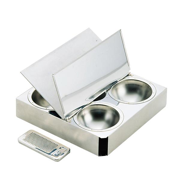マトファ 18-10スパイスボックス 01801(チョコレート削器付) 【厨房館】