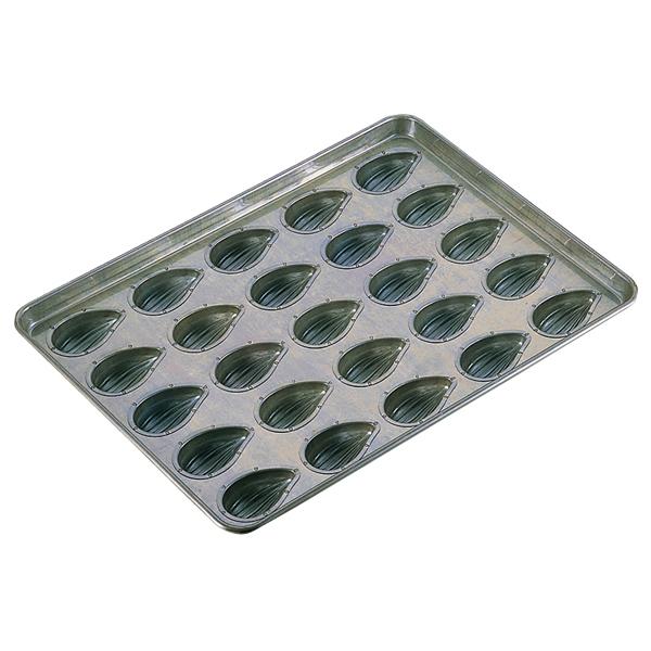 シリコン加工 アマンドナッツ型天板 25面 【厨房館】
