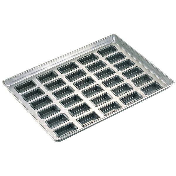 シリコン加工 フィナンシェ型天板 30面 【厨房館】