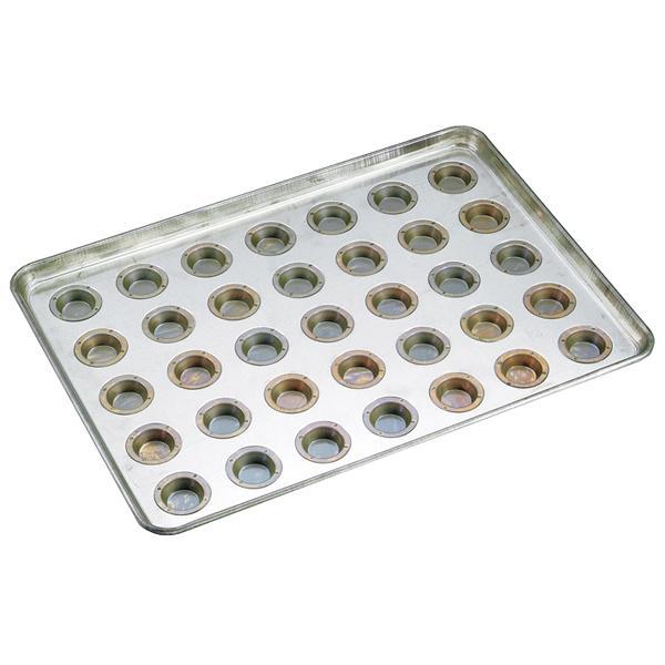 シリコン加工 プティフール型天板 35面 【厨房館】
