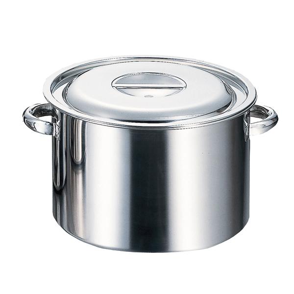正規認証品!新規格 kisi-12-0003-1004 18-8 半寸胴鍋 厨房館 36cm 内 日本メーカー新品