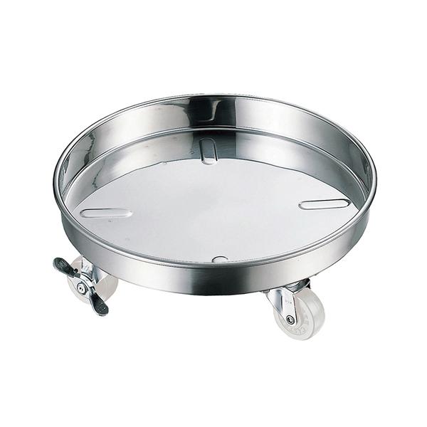 18-8 寸胴鍋 運搬用台車 40cm 【厨房館】