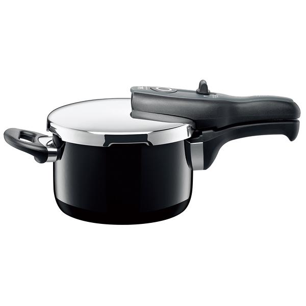 Silit tプラス圧力鍋 2.5l ブラック 【厨房館】