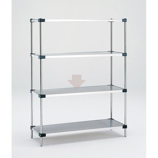 ソリッドエレクター MSSシリーズ用 棚のみ MSS1220 7.9kg 【厨房館】