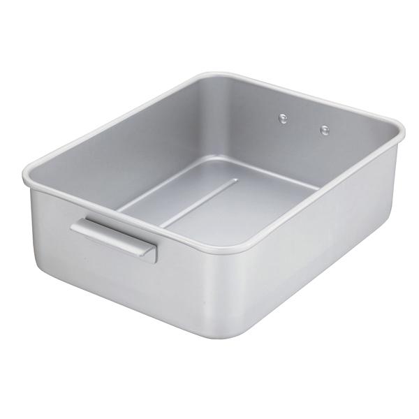 アルミ 深型水切バットセット(手付) 大 【厨房館】