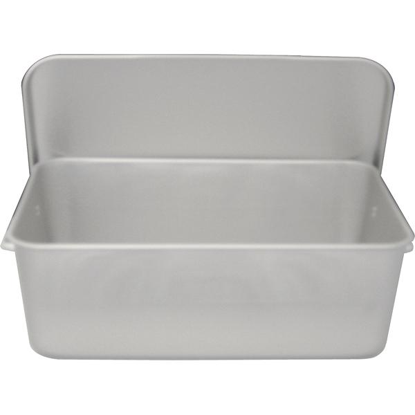 アルミ 重なるパン箱(蓋付) TA-40 【厨房館】
