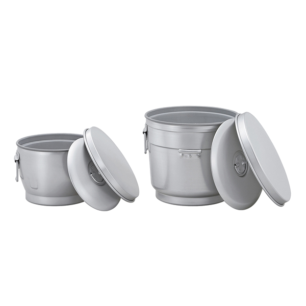 二重保温食缶 おひつ型 AWO-6F 【厨房館】
