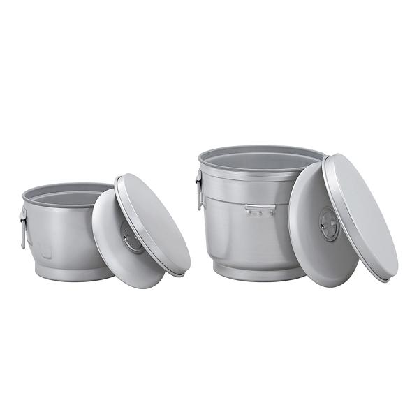 二重保温食缶 おひつ型 AWO-12F 【厨房館】