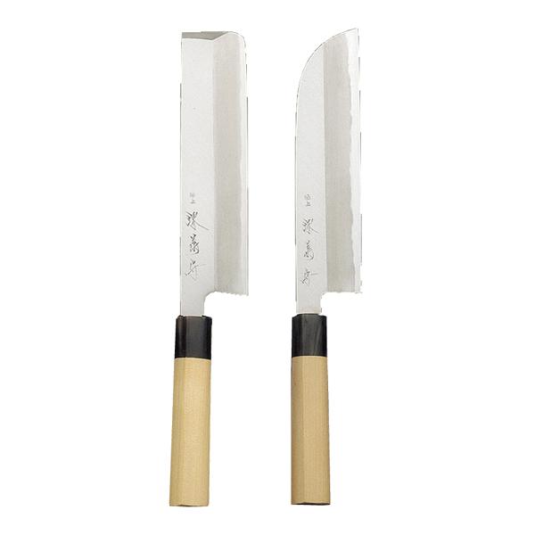 鎌型薄刃(関西型) 180mm 【厨房館】