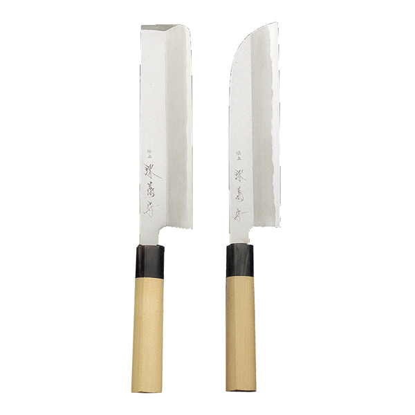 鎌型薄刃(関西型) 210mm 【厨房館】