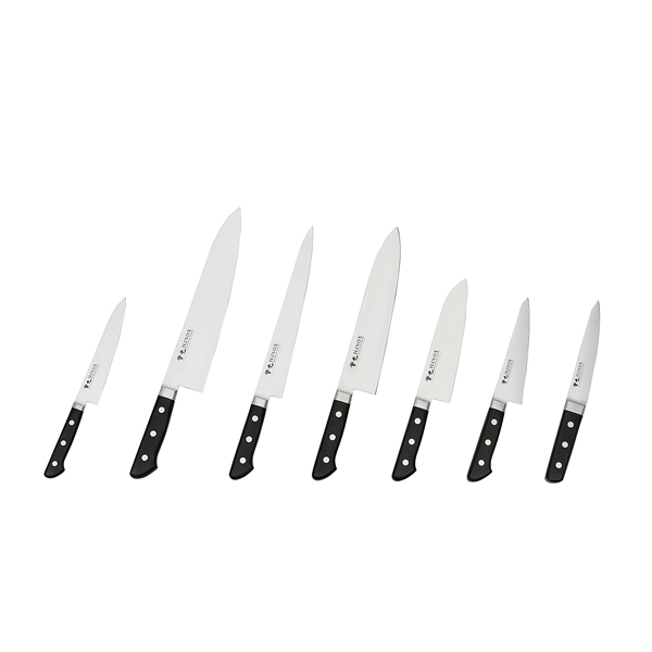 ツバ付洋出刃 210mm(51015) 【厨房館】