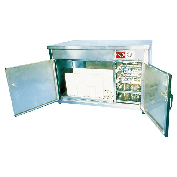 テーブル型庖丁・まな板殺菌庫 HES-1200 テーブルくん 【厨房館】