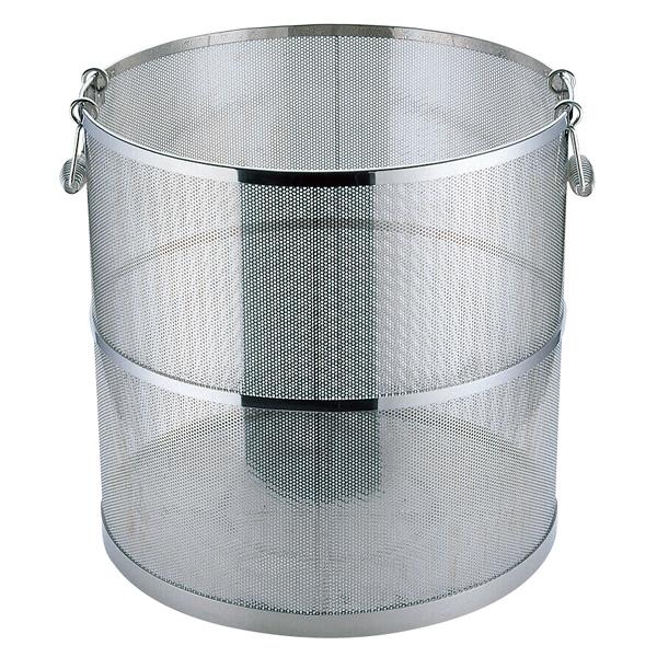 UK18-8 パンチング スープ取りザル φ2.2 42cm 【厨房館】