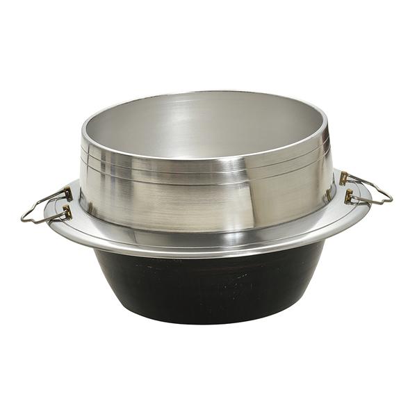 アルミ鋳物羽釜 [外]40cm 【厨房館】