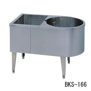 【 業務用 】マルゼン 角丸シンク BKS-163 【 メーカー直送/代引不可 】