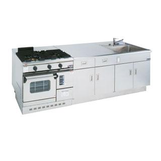 【 業務用 】調理実習台 MJW-T279
