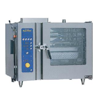 【 業務用 】マルゼン ガス式スチームコンベクションオーブン SSCG-06SCNU【 メーカー直送/後払い決済不可 】