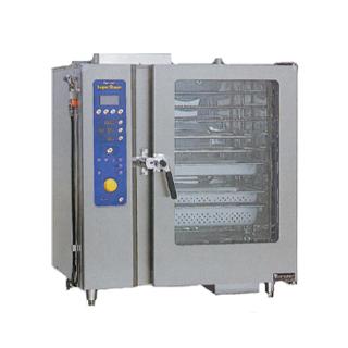 【 業務用 】マルゼン ガス式スチームコンベクションオーブン SSCG-10DCNU【 メーカー直送/後払い決済不可 】