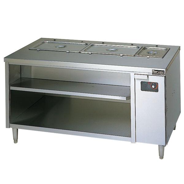マルゼン 電気式ウォーマーテーブル キャビネットタイプ〔MEWC-126〕 【 厨房機器 】 【 メーカー直送/後払い決済不可 】 【厨房館】
