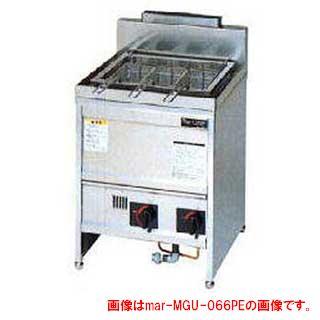 マルゼン ガス式スパゲティ釜 一槽式〔MGU-076PG〕 【 厨房機器 】 【 メーカー直送/後払い決済不可 】 【厨房館】