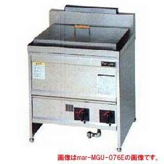 マルゼン ガス式うどん釜 角槽タイプ 二槽式 MGU-106G 都市ガス【 厨房機器 】【 メーカー直送/後払い決済不可 】【厨房館】