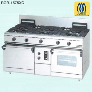 【 業務用 】マルゼン NEWパワークックガスレンジ RGR-1575XC 1500×750×800【 メーカー直送/後払い決済不可 】