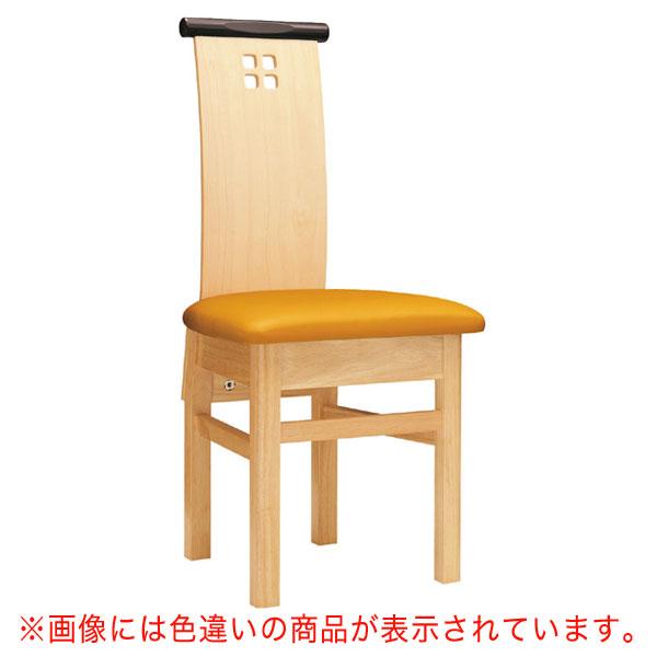 【 業務用 】夕凪N椅子 黒レザー | 張地:オールマイティー 6416 シンコール 【メーカー直送品&代金引換決済不可商品】