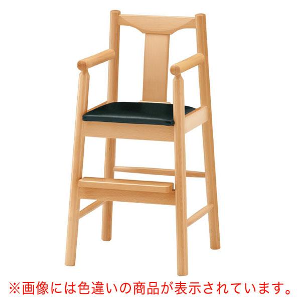 【 業務用 】パンダN椅子 茶レザー | 張地:ニュートップ 6369 シンコール 【 メーカー直送/後払い決済不可 】