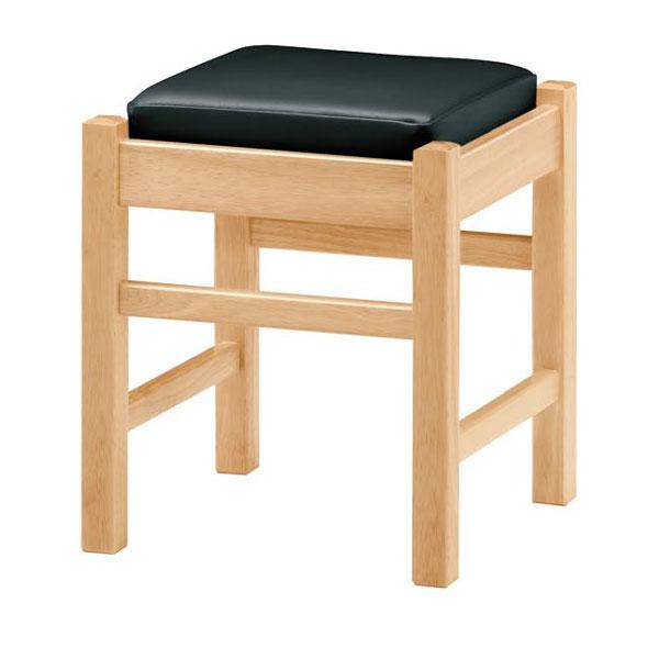 【 業務用 】弥山N椅子 黒レザー | 張地:オールマイティー 6416 シンコール 【メーカー直送品&代金引換決済不可商品】
