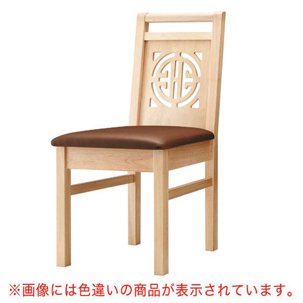 【 業務用 】周荘N椅子 赤レザー | 張地:オールマイティー 6467 シンコール 【メーカー直送品&代金引換決済不可商品】
