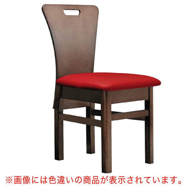 【 業務用 】昼顔D椅子 カラシレザー | 張地:オールマイティー 6451 シンコール 【メーカー直送品&代金引換決済不可商品】