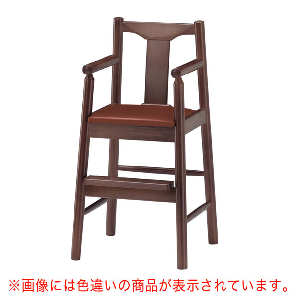 【 業務用 】パンダD椅子 黒レザー | 張地:ニュートップ 6390 シンコール 【 メーカー直送/後払い決済不可 】