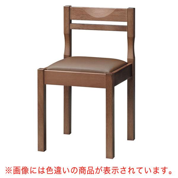 【 業務用 】関羽D椅子 黒レザー | 張地:クレンズII 6291 シンコール 【 メーカー直送/後払い決済不可 】