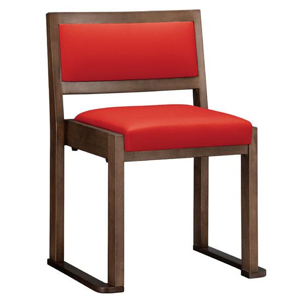 【 業務用 】根来D椅子 | 張地:Aランクレザー ゼラコート 6692 シンコール 【 メーカー直送/後払い決済不可 】