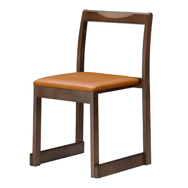 【 業務用 】右近D椅子   張地:Aランクレザー クレンズII 6305 シンコール 【メーカー直送品&代金引換決済不可商品】