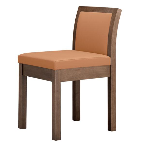 【 業務用 】妙法D椅子 | 張地:Aランクレザー ゼラコート 6688 シンコール 【 メーカー直送/後払い決済不可 】