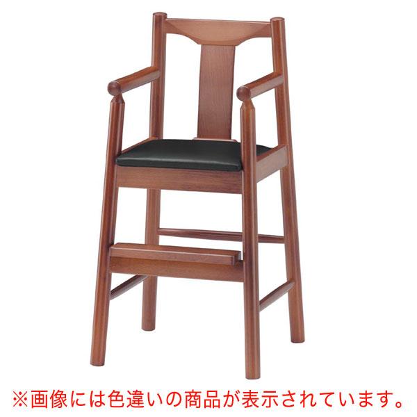 【 業務用 】パンダK椅子 茶レザー   張地:ニュートップ 6369 シンコール 【 メーカー直送/後払い決済不可 】