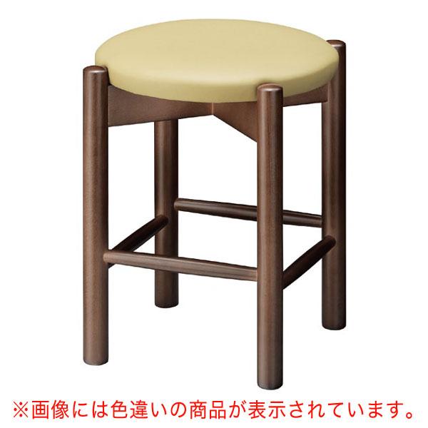 【 業務用 】若草D椅子 ブラウンレザー | 張地:オールマイティー 6452 シンコール 【 メーカー直送/後払い決済不可 】