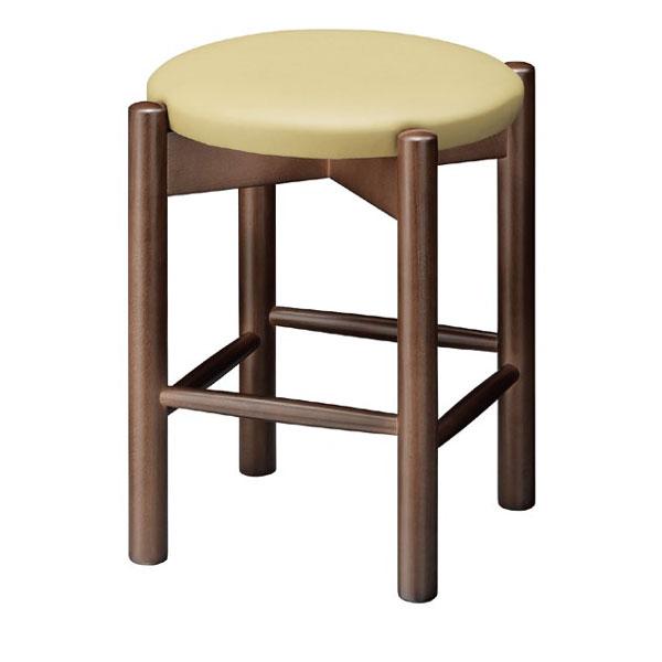 【 業務用 】若草D椅子 イエローレザー | 張地:オールマイティー 6486 シンコール 【 メーカー直送/後払い決済不可 】