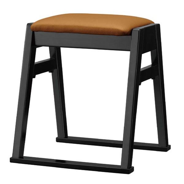 【 業務用 】志賀B椅子 | 張地:Aランクレザー クレンズII 6305 シンコール 【メーカー直送品&代金引換決済不可商品】