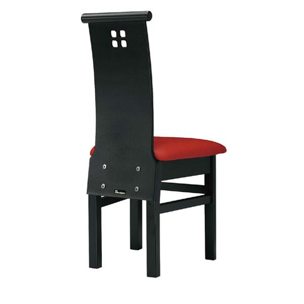 【 業務用 】夕凪B椅子 赤レザー | 張地:オールマイティー 6467 シンコール 【メーカー直送品&代金引換決済不可商品】
