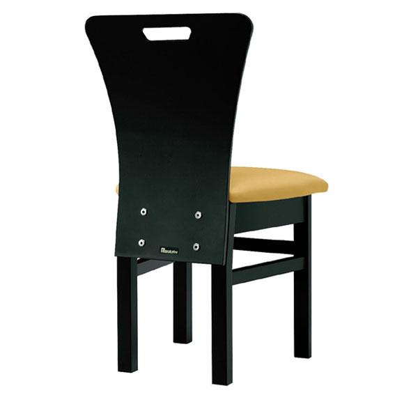 【 業務用 】昼顔B椅子 カラシレザー   張地:オールマイティー 6451 シンコール 【メーカー直送品&代金引換決済不可商品】