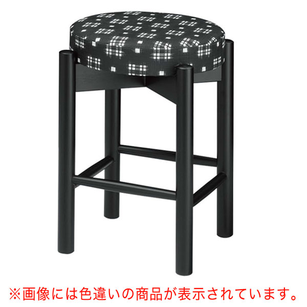 【 業務用 】三笠B椅子 黒レザー | 張地:ニュートップ 6390 シンコール 【 メーカー直送/後払い決済不可 】